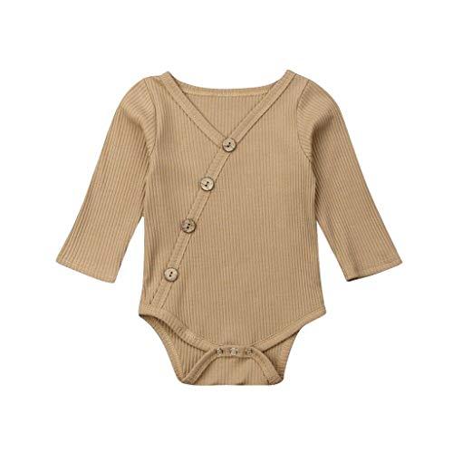 Baby Girl Boy Crewneck Sweatshirt Knit Long Sleeve Romper Solid Rainbow Oversized Sweater Bodysuit Pullover Top J59