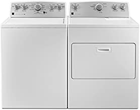 Kenmore Top-Load Laundry 4.2 cu. ft. Electric Dryer Bundle in White, includes delivery and hookup