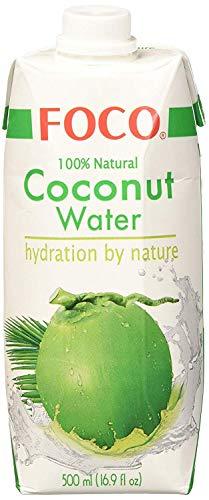 Foco in cocco sul petto acqua, Pur, 100% Naturalmente, 2 pacchetto (2 x 500 ml)