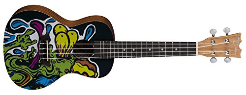 Dean Concert Graphic Limited Ukulele - Lowbrow