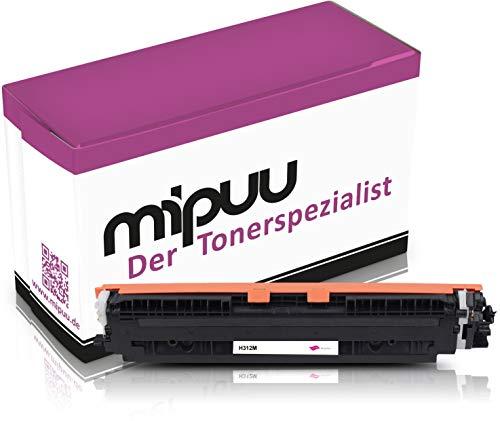 Mipuu toner compatibel met HP CE313A 126A Magenta voor Laserjet Pro CP1025 CP1025nw M275 CP1025 CP1025nw MPF M175a M175nw