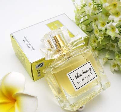 PHILOGOD Bowknot vrouwen parfum heeft een langdurige geur met verse bloemen en rimpelende vruchten dames parfum 45ml Goud
