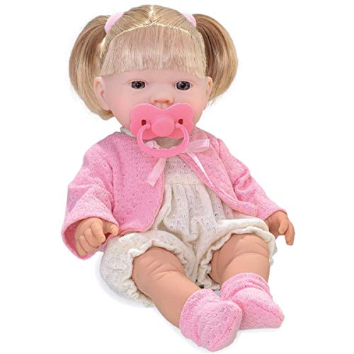 Boneca Bebezinho Real, Roma Jensen, Xixi Menina, Branca