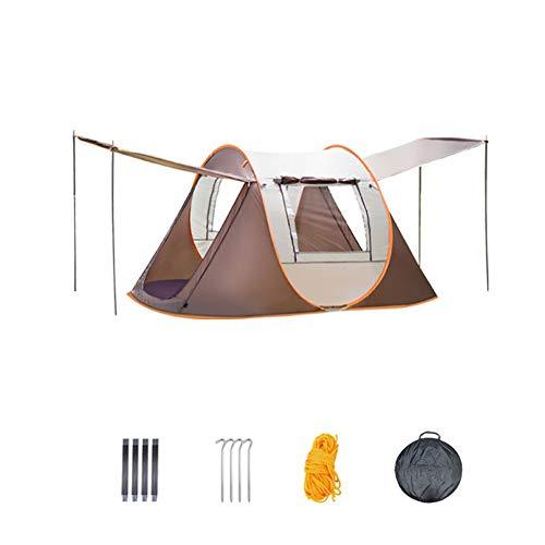 Monthyue Portátil 2 Personas 3~4 Personas Tienda Iglú Automático Impermeable Tienda De Campaña Familiar para Trekking Campamento Playa Aventura Etc,2~4people(240 * 150 * 110CM)