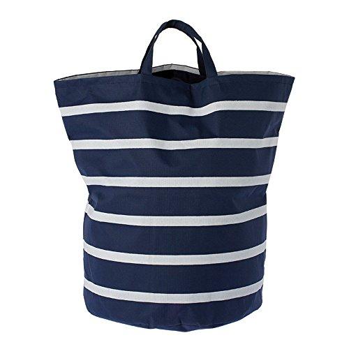 Riverdale XL tas streep donkerblauw