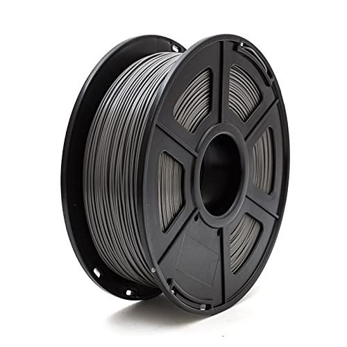 JIALUN ZFX-DAYIN, 1pc 3D-Drucker PLA ABS Filament 1.75mm 1 kg +/- 0,02 mm 343m 2.2lbs for 3D-Drucker oder 3  Pen 3D-Druck Kunststoff Printing Filament Günstige (Color : Pla Dark Grey)