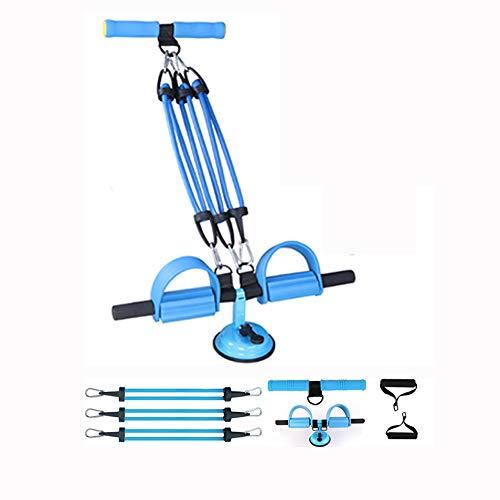 Fitness Body Trimmer Ejercicio Foot Pedal Expander Equipment Culturismo Cuerda de tracción Pierna abdominal Muslo Brazo Músculo Estiramiento Estiramiento Máquina de ejercicios Entrenador Entrenador