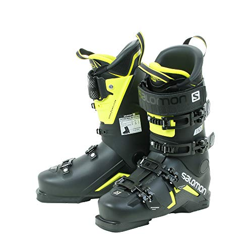 Salomon Botas de Ski S Max 110 Black / Acid Green / White - L40547700-27/27.5