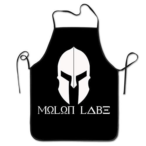 Unisex Kitchen Aprons Molon Labe Chef Apron Cooking Apron Barbecue Aprons