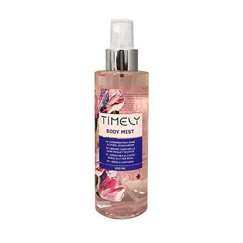 Timely - Brume pour le corps au parfum sensuel,...