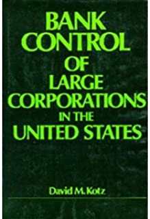 Bank Control of Large Corporations in the United States