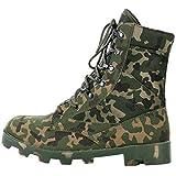 TH&Meoostny Hombres Táctico Combate Ejército Tobillo Transpirable Senderismo Camuflaje Caza Caza Zapatos de Escalada Botas del Desierto camouflage1 12