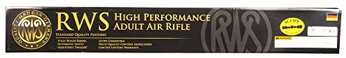 Diana RWS Model 54 Air King Floating Action Hardwood Stock Pellet Gun Air Rifle, .22 Caliber, Gun with 4x32mm Scope
