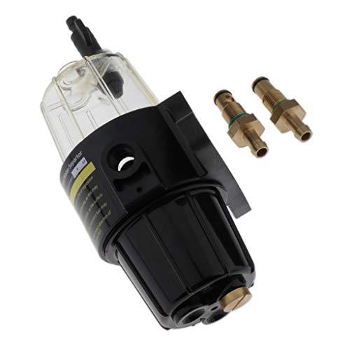 B Baosity Regulador de Presión Neumático de Aire para Moto Compresor de Aire Comprimido para Motor Gasolina Fuera de Borda