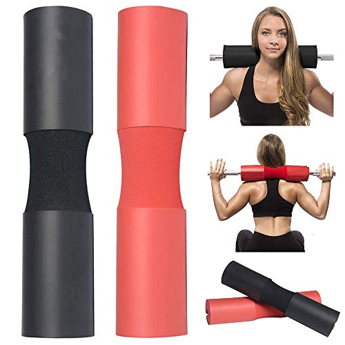 VINGTOS SALES Barbell Squat Pad Neck Rack Cushion Foam Shoulder Pad Neck Back Protective Pad Fitness Padded Attachment Squat Pads for Weightlifting, Hip Thrusts, Gym Weight Lifting Hip Glute Exercises
