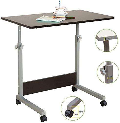 LY88 beweegbare overbedtafel, eenvoudig te verplaatsen/te installeren hoogte standpaneel verstelbare overbedtafel Medical Attendant tafel overbed laptop tafel boven bed sofa tafel