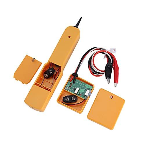 Xndz Tone Line Finder, Probador de Cables de Red práctico y Duradero RJ11, Cables multifuncionales para Cables de Red