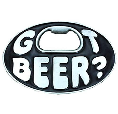 Hebilla Consiguió Cerveza - abrelatas de botella de cerveza - Hebilla de correa