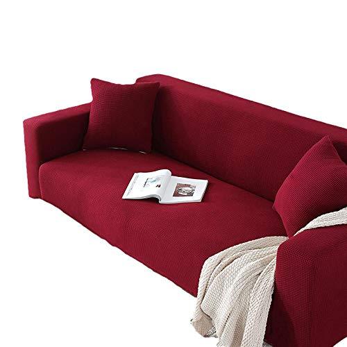 BLACK ELL Antideslizante contra Polvo Y Manchas Lavable,Cojín Universal para sofá Cuatro Estaciones, Funda Universal para sofá con Funda Completa-D_145-185cm_1