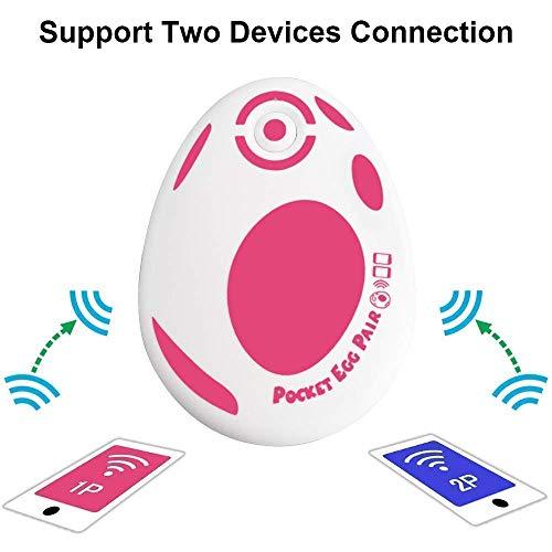 GZW-Shop Pocket Egg für Zwei Spieler fängt automatisch Pokémons für Pokémon Go Spiele, die mit Android und IOS kompatibel sind Version Offiziell 2020(Rot)