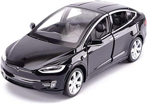 LKOER SUV Fuera de la Carretera 1,32 Modelo de simulación Aleación Die-Die-Cast A Coches Decorados Modelo 15x5.5x4.5cm (Color: Azul) jinyang (Color : Black)