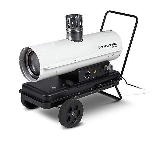 TROTEC Ölheizgebläse IDE 20 (20 kW Heizleistung) Heizkanone Zeltheizung Hallenheizung inkl. externes Thermostat