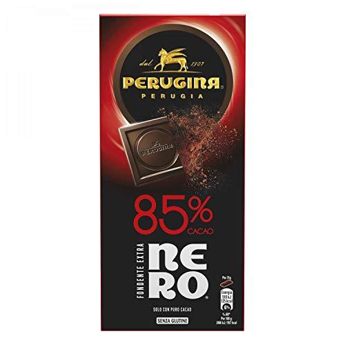 Perugina Nero Tavoletta di Cioccolato Fondente con 85% di Cacao - 85 g