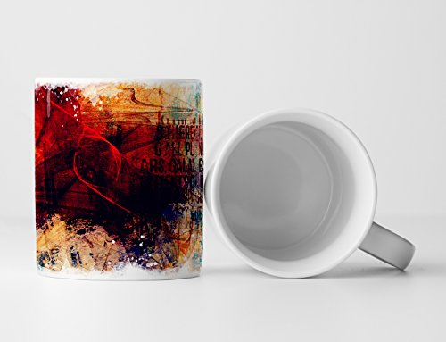 Eau Zone Design Abstract mok, cadeau.
