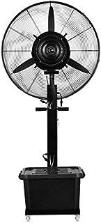 Ventilador del aerosol Industrial ventilador de pie ventilador de pie de agua automático enfriamiento por pulverización oscilación de potencia equipo multifuncional 10 horas 42 -3 volumen litros, tama