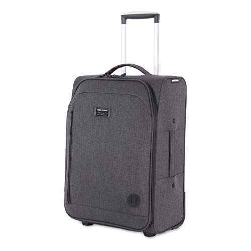 SWISSGEAR Getaway Weekend Rolling Carry-On 20-inch Luggage | Wheeled Travel Suitcase | Dark Gray