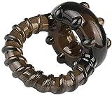 Péné Anillo de silicona, anillo de silicona dual súper suave para anillos de pareja masculina Estimulación-Mejor juguete de masaje para mejorar el retardo de tiempo al final