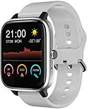 Kelei K30 Smart Watch, Fitness Tracker for Women Men, 1.54inch Touch Screen Smartwatch with Bluetooth Call, Heart Rate and Sleep Monitor, IP67 Waterproof Activity Tracker with Pedometer (White)