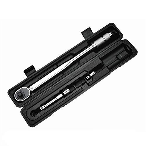 1/2 pulgadas de 28 a 210 nm click torsión ajustable Llave de reparación de bicicletas Tres kit de herramientas del Conjunto de bicicletas Reparación de Herramienta de mano Herramienta de la llave ingl