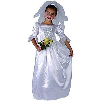 Disfraz de novia para niña: Amazon.es: Juguetes y juegos