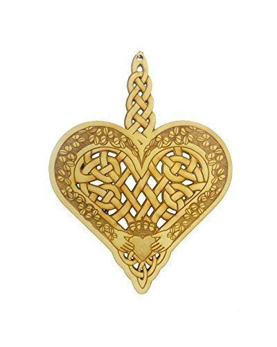 Celtic Knot Ornament, Celtic Design Gift, Irish Decor, Claddagh Ornament