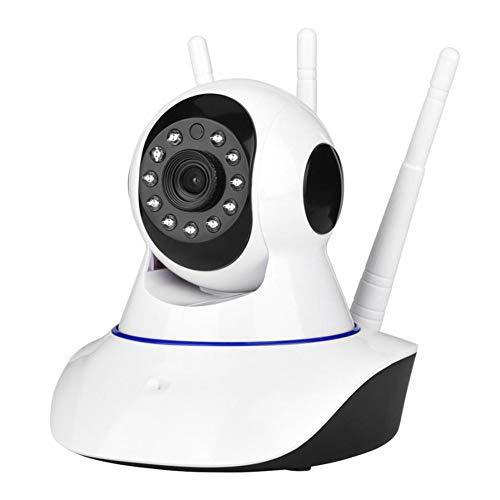 Depory Cámara IP WiFi, 1080P Cámara Vigilancia con Visión Noturna y Tarjeta de Memoria 64G, Detección de Movimiento, Audio Bidireccional,Cámara de Seguridad para Bebé y Mascotas