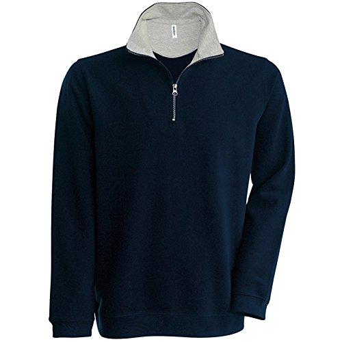Kariban - Sweat-Shirt - Manches Longues - Homme - Bleu - X-Large