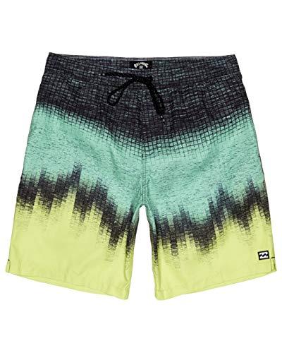 BILLABONG Resistance Lb, Recreational Shorts Uomo, Yellow, XL