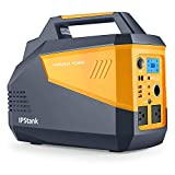 Portable Power Station, Capacity 634Wh Backup Mobile Lithium Battery, 2x110V/300W AC Outlet(3 USB DC Port)Solar Generator Power Supply with for Outdoors Camping Fishing Travel Hunting Emergency
