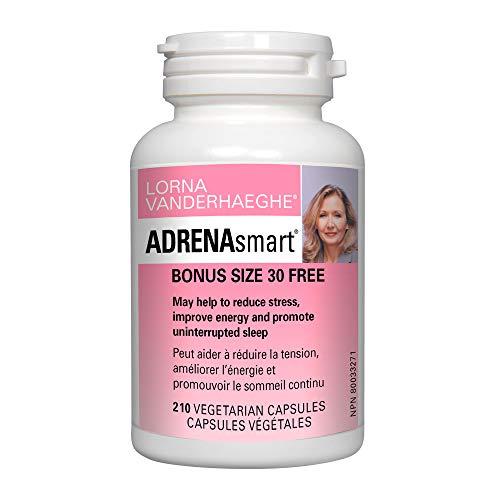 Lorna Vanderhaeghe Adrenasmart Bonus gratuit de taille 180+ 30= 210capsules végétariennes