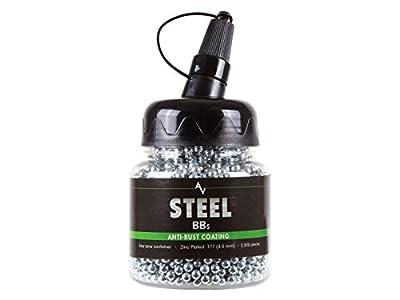 Air Venturi Steel BBS.177 Cal, 5.1 Grains, Zinc-Plated, 2,500ct