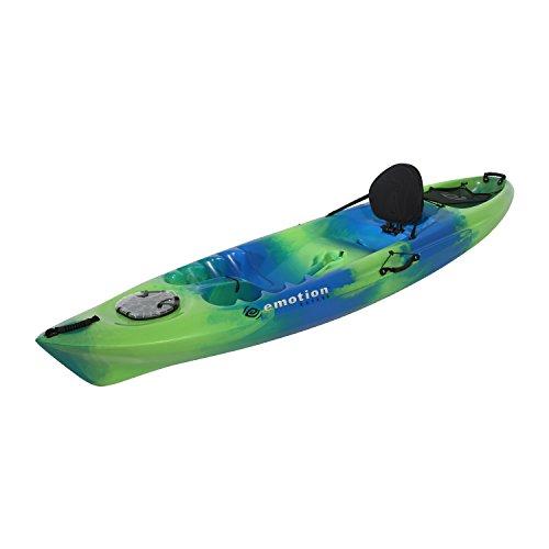 eMotion Temptation Sit-On-Top Kayak, Blue Green, 10'3'