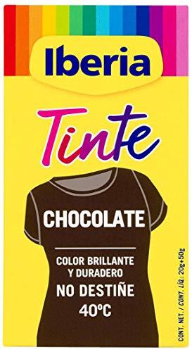 Iberia Tinte Color Chocolate no destiñe a 40 º C Caja 1 ud