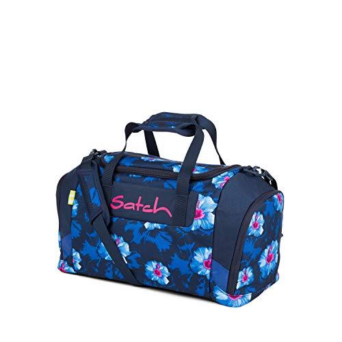 Satch Sporttasche Waikiki Blue, 25l, Schuhfach, gepolsterte Schultergurte, Blau