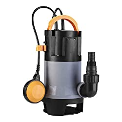 commercial DEKOPRO3302GPH Submersible Pump 1HP750W Drainage Pump Cleaning / Dirty Water Pump Swimming in the Aquarium… lowes water garden
