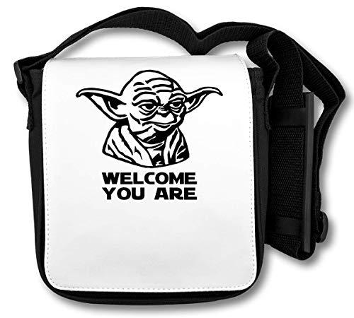 Yoda - Welcome You Are Borsa a tracolla
