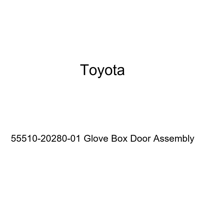 TOYOTA Genuine 55510-20280-01 Glove Box Door Assembly