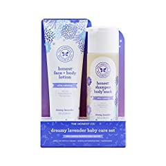 2 pack bundle: Our shampoo plus body wash is designed to make parents' lives easier; Our wash combined with our face plus body lotion is all you need for bath time; Together they clean, soothe, and nourish babies' skin and hair without over drying Ge...