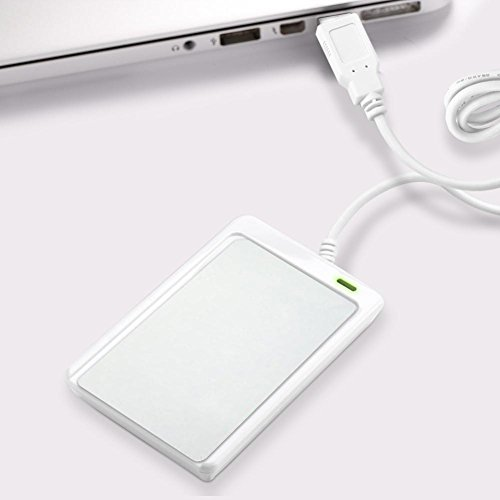 ZJchao NFC RFID Reader/Writer ACR122U ISO 14443A/B +kostenlose Software in Weiß