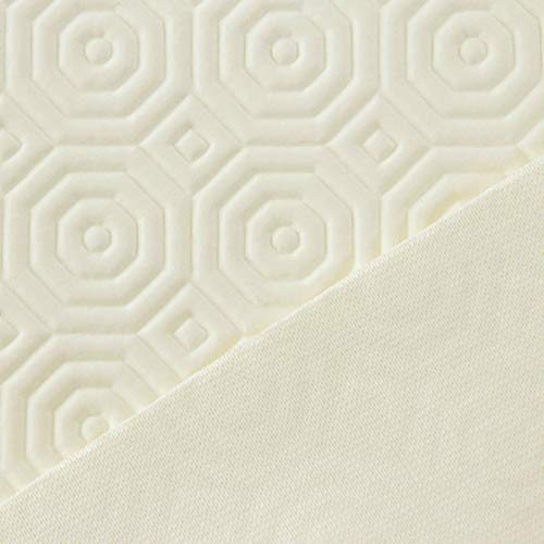 Proteggi tavolo Mollettone al metro Gommato Alt. 140 cm - bianco M977